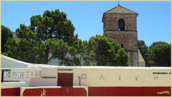 Mijas, Ισπανία: Blick auf die Marien Kirche, die im ^14. JH noch eine Moschee war