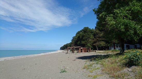 фото пицунда пляж