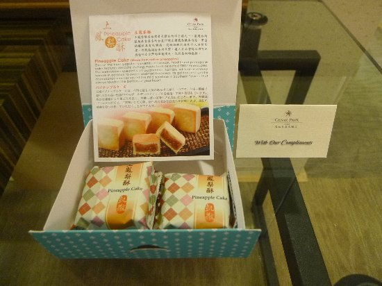 Caesar Park Taipei: Welcome Gift from Caesar Park Hotel