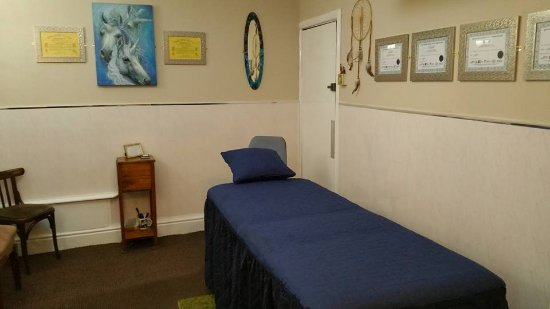 Topaz Hotel & Well-being Centre: Our therapy room.