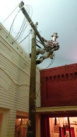 East Texas Oil Museum: Hängt einfach da rum und plaudert