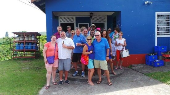 Newcastle, Nevis: On one of the pub crawls