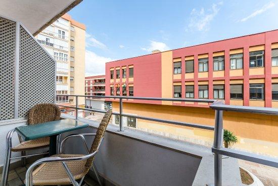 Hotel Regio Cádiz: Terraza