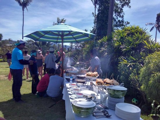 Baan Sawan Villa: Garden BBQ