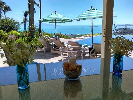 Baan Sawan Villa: Veranda View