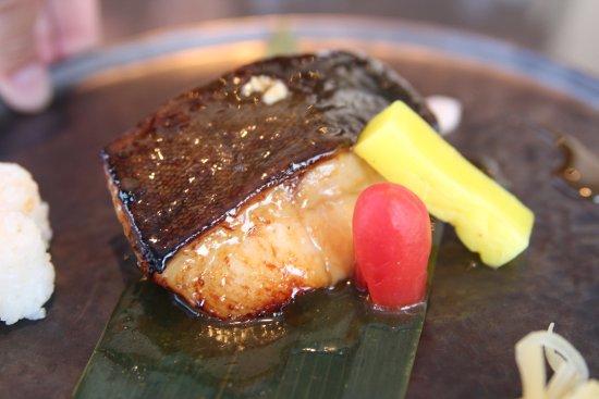 Porto Sani: black cod miso at sani marina - katsu restaurant