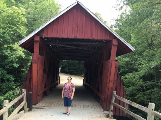 Landrum, SC: Campbell's Covered Bridge