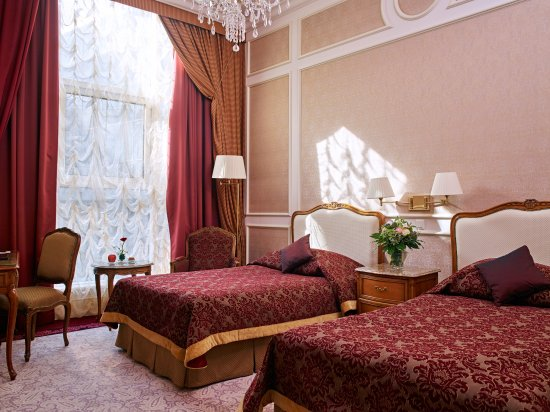 Superior Room Twin, Grand Hotel Wien