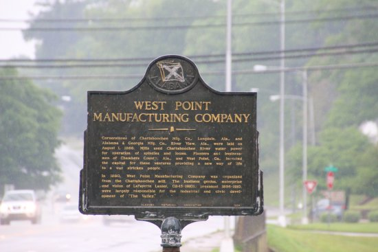 Valley, AL: West Point Manufacturing Company