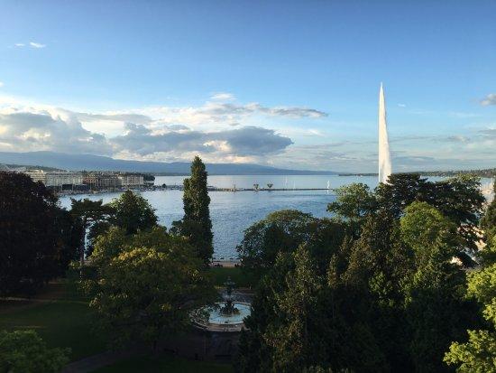 Hotel Metropole Geneve: Rooftop view