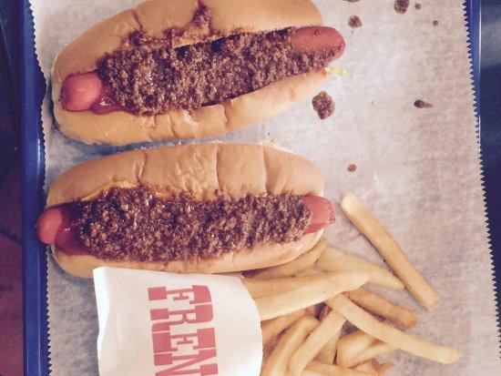 Americus, Georgien: Monroe's Hot Dogs & Billards