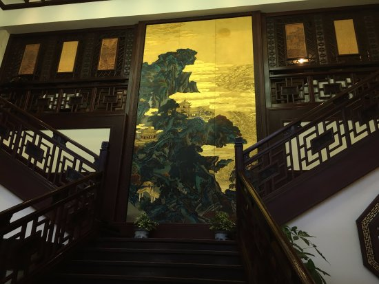DeYueLou: The stairs in the Restaurant