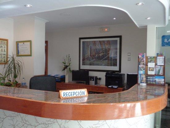 Hotel Lanzada: Recepción