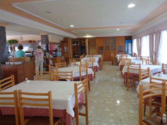 Hotel Lanzada: Vista parcial del comedor