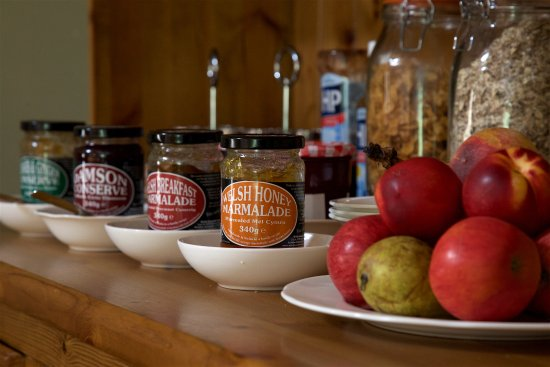 Henllys Estate Bed & Breakfast: Local produce