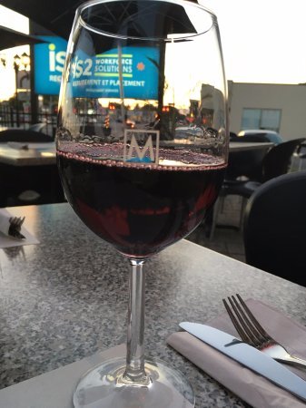 Madisons: Glass of Red Wine