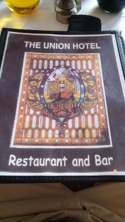 Union Hotel Restaurant Bar Benicia Ca May 2016