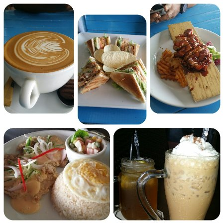 Monsta Cafe: The foods and coffee there
