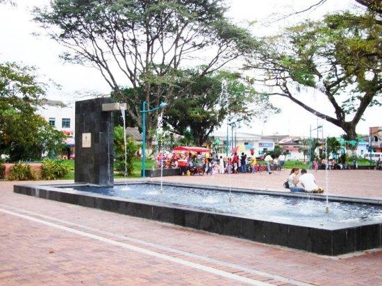 Cundinamarca Department, Colombia: Fuente del parque