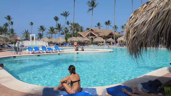 VIK Hotel Cayena Beach: super clean and maintained pools