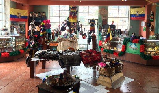 Souvenirs Ecuador Tienda Mirador