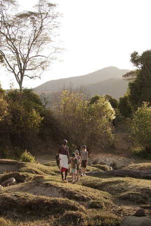 Samburu District, Kenia: Family walking safaris