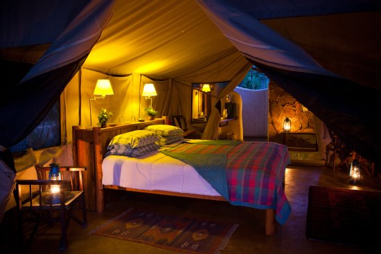 Samburu District, Kenia: Our beautiful tented rooms