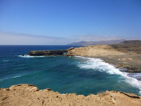 La Pared, España: la scogliera