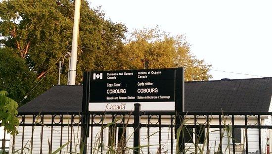 Cobourg, Canadá: Coast Guard