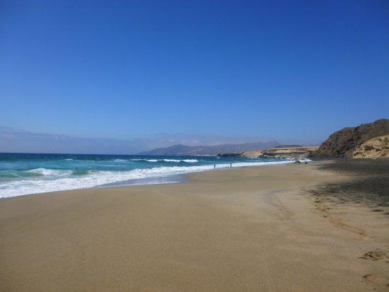 La Pared, España: la spiaggia