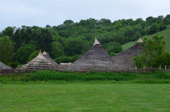Butser Ancient Farm: Wonderful country views!