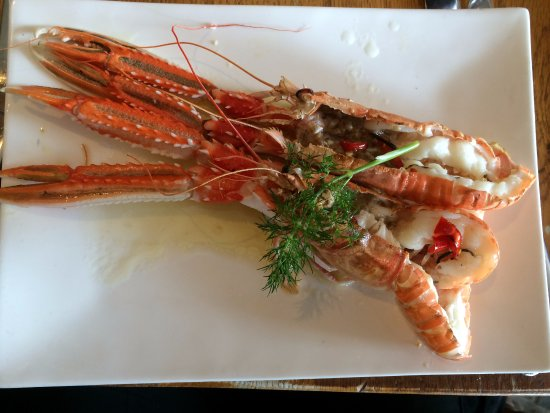 The Boatshed Restaurant: Langoustines. Done to perfection.