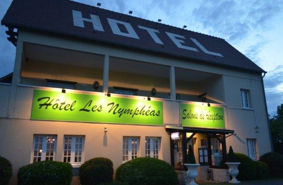 Les Nympheas : la zona ingresso reception