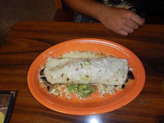 Island Park, Айдахо: burrito