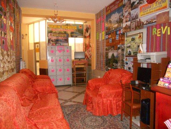 Marlon's House Puno - Peru: recepcion marlons house puno
