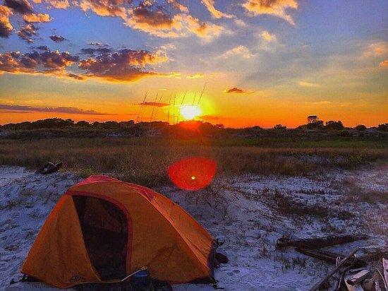 Geoseekers Beach Camping On Little Tybee