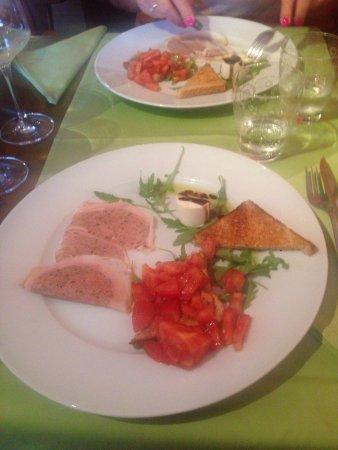 Osteria Borghese: Lecker Abendessen