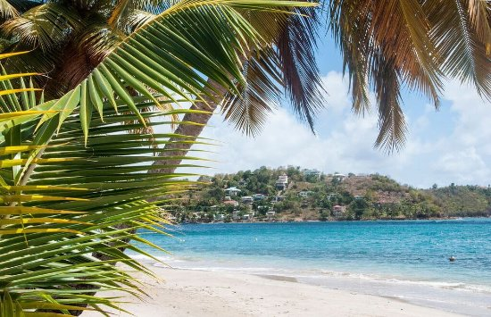 Laborie, St. Lucia: Mirage beach front