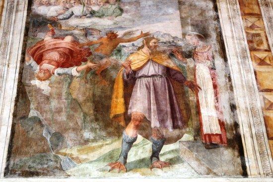 Isernia, Italia: ..la donna tratta in inganno dal demonio