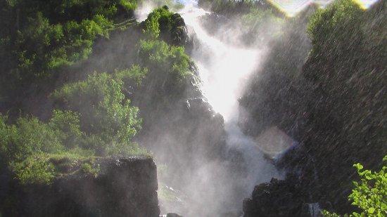 Aich, Østerrike: Im Wasserfall