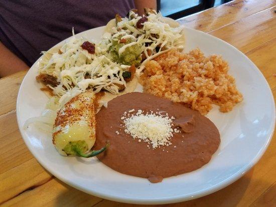Bixby, OK: Vegetarian Tacos