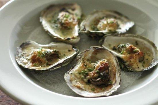 Restaurant 100 KM : Oyster Appetizer