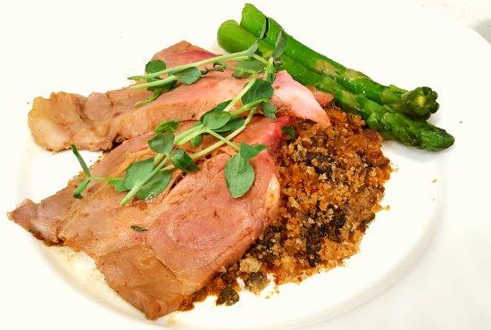 Restaurant 100 KM : Pork over Mushroom Stuffing