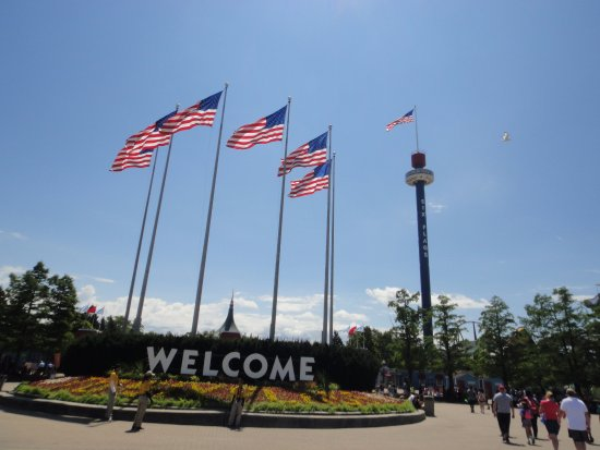 Six Flags Great America: Six flags Chicago area