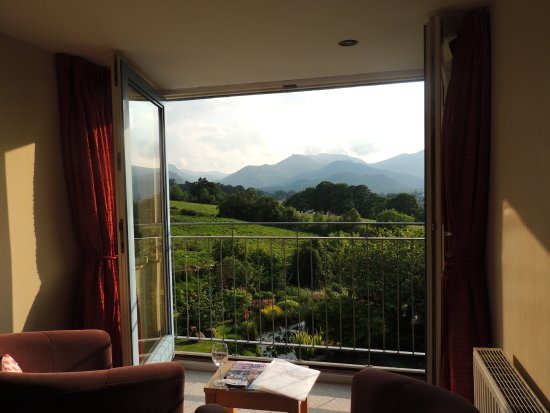 The Lookout Keswick: Stunning views from our room...