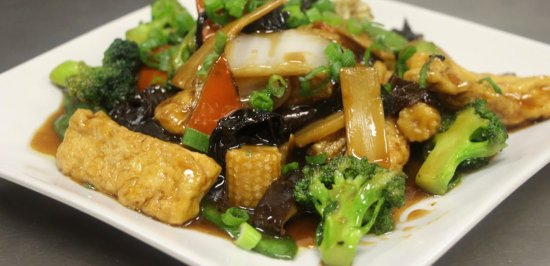 China's Cuisine Sushi: Mixed Vegetable Delight