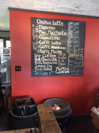 Clinton Coffee House: lots of great things on the menu