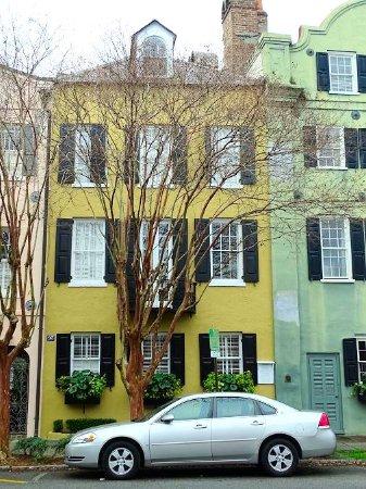Rainbow row picture of rainbow row charleston tripadvisor for Charleston row houses