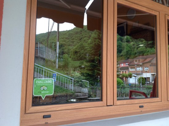 Aller Municipality, Spain: Nuestra pegatina de Tipadvisor