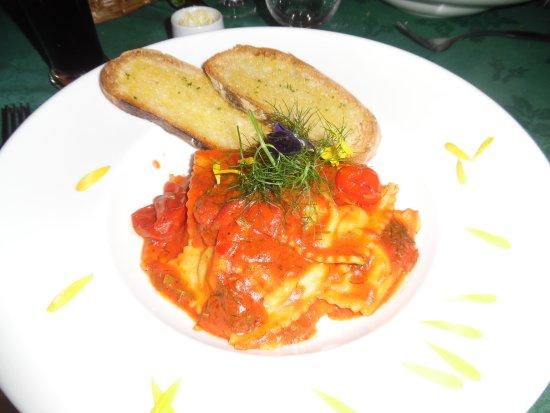 Lauras Restaurant: Ravioli di pesce